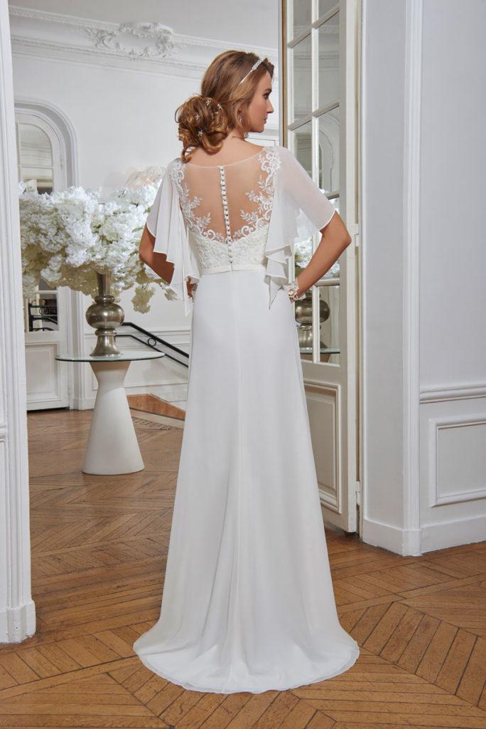 Collection Tomy Mariage - Robe Chantal - Tout pour la mariée à Evian - Robes de mariage, coiffure, maquillage, fleurs, onglerie
