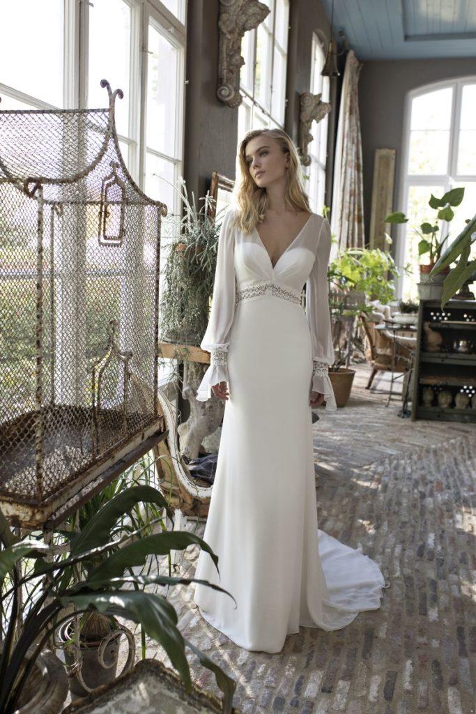 Collection Modeca - Robe Darcy - Tout pour la mariée à Evian - Robes de mariage, coiffure, maquillage, fleurs, onglerie