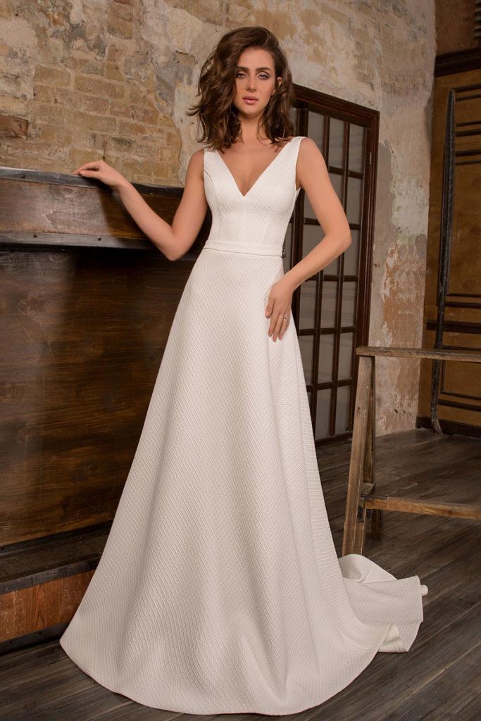 Collection Hervé Mariage - Robe Dijon - Tout pour la mariée à Evian - Robes de mariage, coiffure, maquillage, fleurs, onglerie