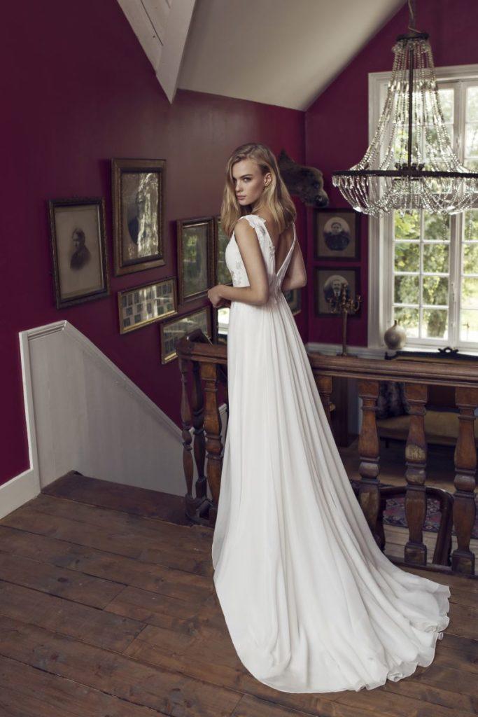 Collection Modeca - Robe Duffy - Tout pour la mariée à Evian - Robes de mariage, coiffure, maquillage, fleurs, onglerie
