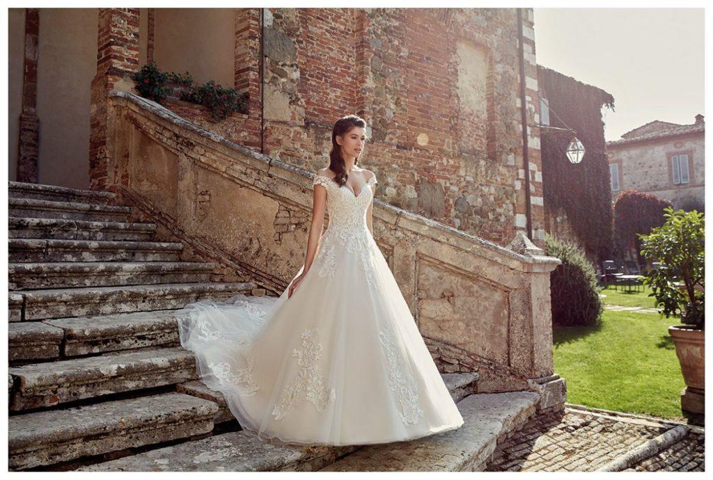 Collection Eddy K - Robe EK1200 - Tout pour la mariée à Evian - Robes de mariage, coiffure, maquillage, fleurs, onglerie