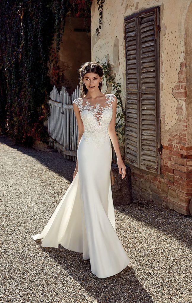 Collection Eddy K - Robe EK1212 - Tout pour la mariée à Evian - Robes de mariage, coiffure, maquillage, fleurs, onglerie