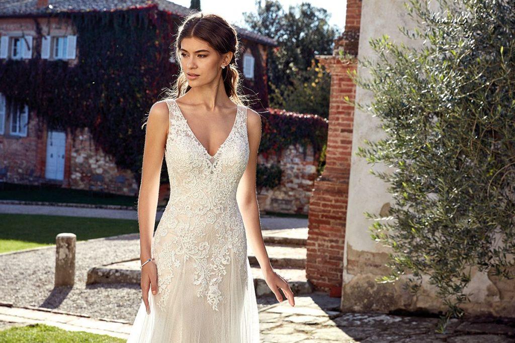Collection Eddy K - Robe EK1225 - Tout pour la mariée à Evian - Robes de mariage, coiffure, maquillage, fleurs, onglerie