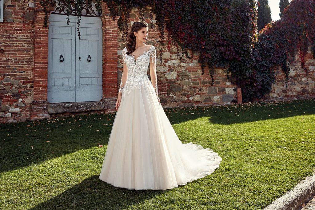 Collection Eddy K - Robe EK1232 - Tout pour la mariée à Evian - Robes de mariage, coiffure, maquillage, fleurs, onglerie