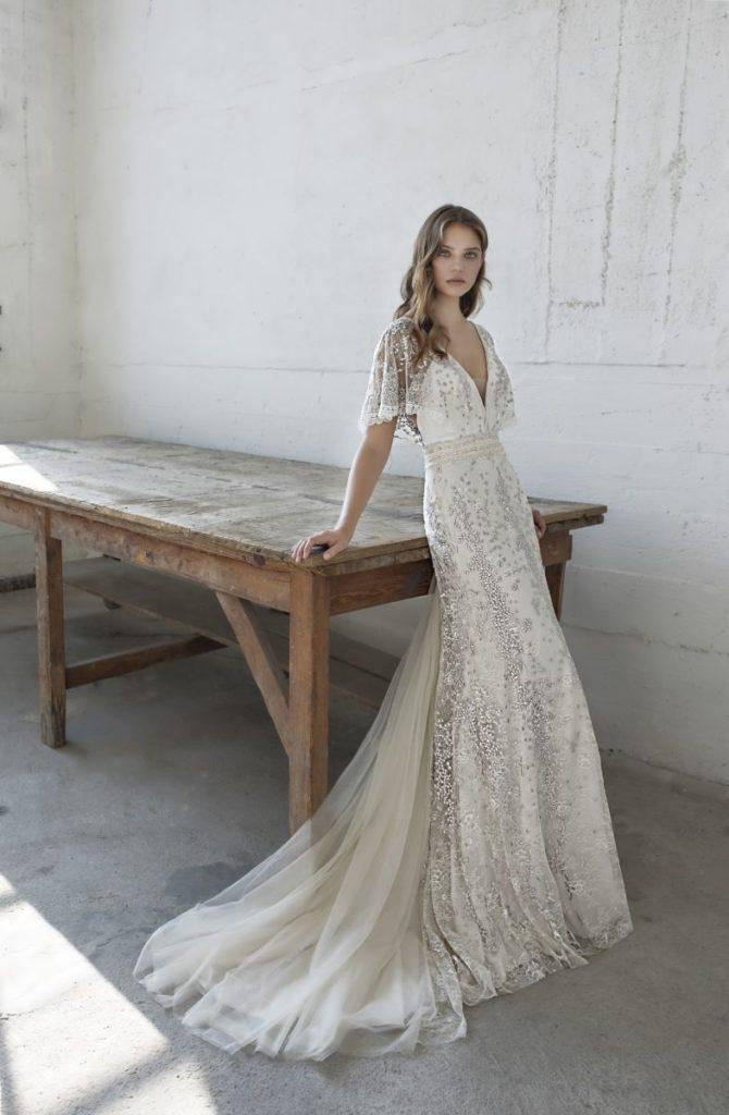 Collection Modeca - Robe Eden - Tout pour la mariée à Evian - Robes de mariage, coiffure, maquillage, fleurs, onglerie