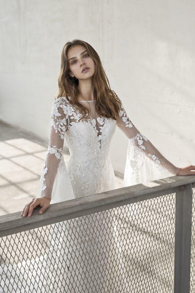 Collection Modeca - Robe Enya - Tout pour la mariée à Evian - Robes de mariage, coiffure, maquillage, fleurs, onglerie