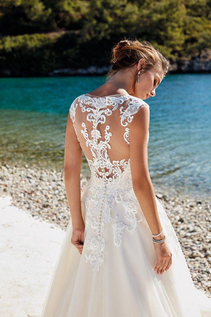 Collection Eddy K - Robe Heidi - Tout pour la mariée à Evian - Robes de mariage, coiffure, maquillage, fleurs, onglerie