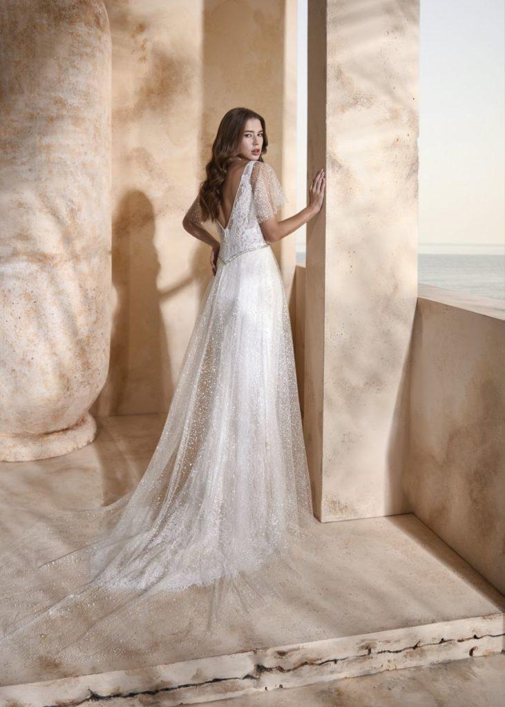 Collection Modeca 2020 - Robe Hesper - Tout pour la mariée à Evian - Robes de mariage, coiffure, maquillage, fleurs, onglerie