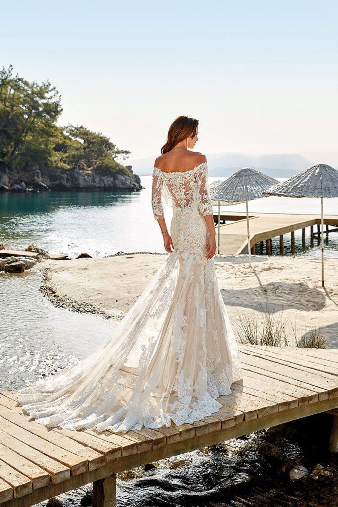 Collection Eddy K - Robe Roxanne - Tout pour la mariée à Evian - Robes de mariage, coiffure, maquillage, fleurs, onglerie