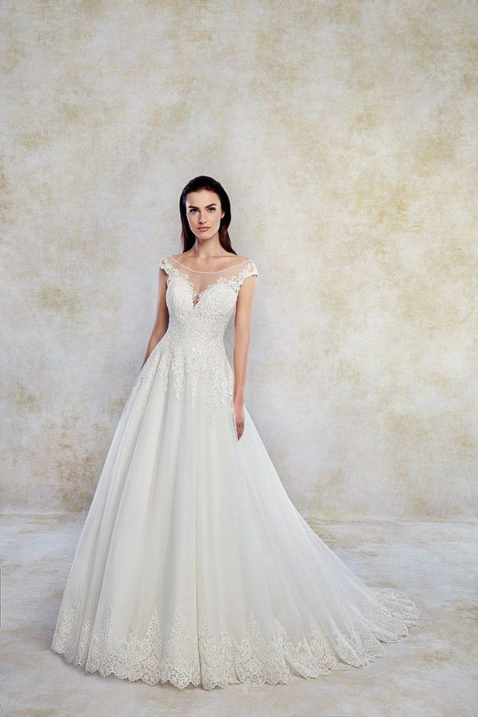 Collection Eddy K - Robe TK1252 - Tout pour la mariée à Evian - Robes de mariage, coiffure, maquillage, fleurs, onglerie