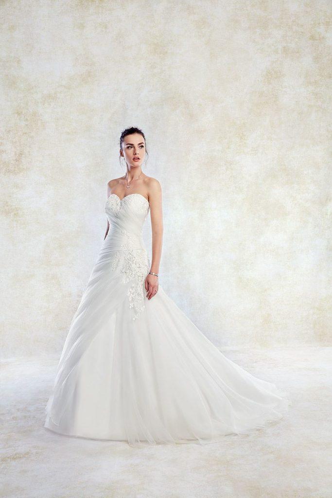 Collection Eddy K - Robe TK1258 - Tout pour la mariée à Evian - Robes de mariage, coiffure, maquillage, fleurs, onglerie