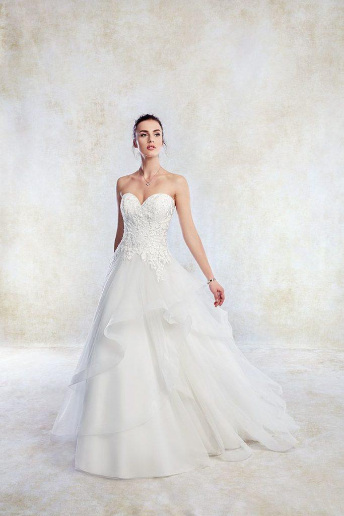 Collection Eddy K - Robe TK1259 - Tout pour la mariée à Evian - Robes de mariage, coiffure, maquillage, fleurs, onglerie