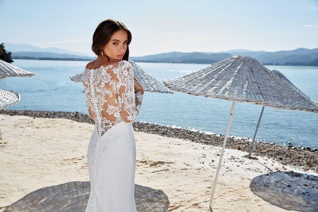 Collection Eddy K - Robe Valencia - Tout pour la mariée à Evian - Robes de mariage, coiffure, maquillage, fleurs, onglerie