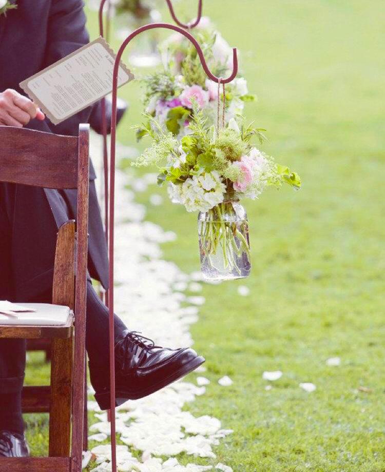 Fleurs allée - il était une fois à Evian, tout pour la mariée